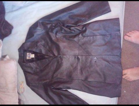 Shaver laker authentic outerwear leather jacket