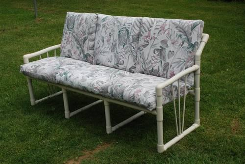 three seat sofa pvc patio furniture with cushions for sale in langhorne pennsylvania classified