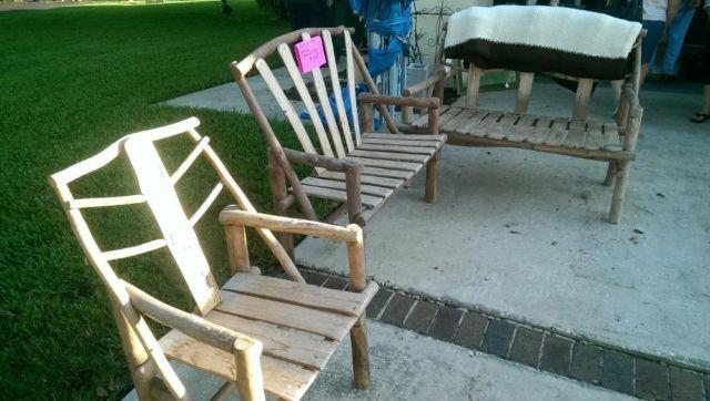 Hand Crafted Patio Set