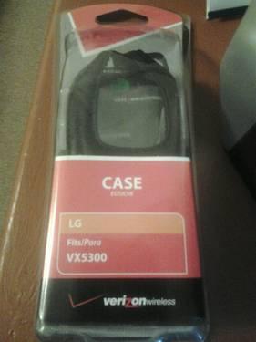 New verizon wireless cell phone case model (LG5300CAS)