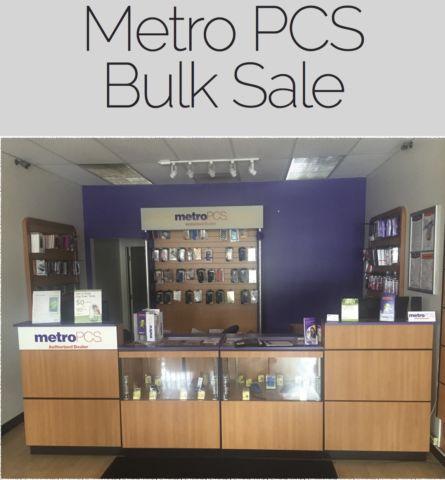 Metro PCS Bulk Sale** Phones, Accessories and More