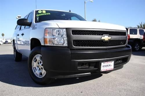 2008 chevrolet silverado 1500 crew cab pickup short bed lt1 for sale in long beach california. Black Bedroom Furniture Sets. Home Design Ideas