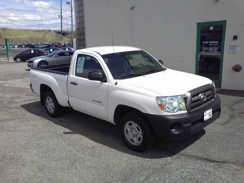 2010 Toyota Tacoma Regular Cab Pickup 2D 6 ft