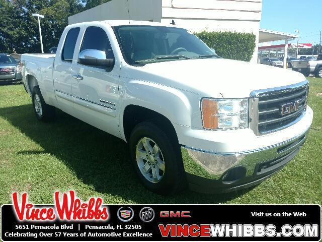2011 GMC Sierra 1500 Extended Cab Pickup 4WD Ext Cab 143.5 SLE