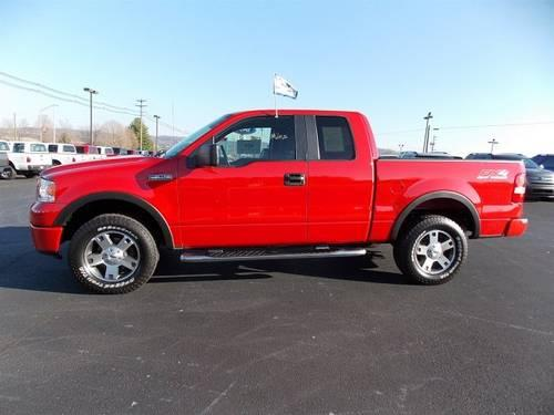 2008 Ford F 150 Extended Cab Pickup FX4 Extended Cab 4X4