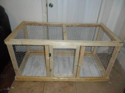 Large indoor rabbit guinea pig cage homemade for sale in for Diy guinea pig cages for sale
