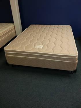 new Queen size pillowtop mattress sets