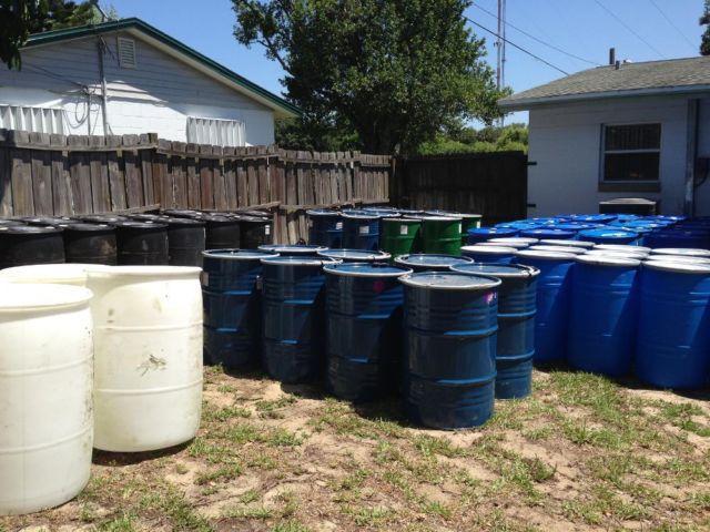 55 Gallon/35 Gallon Food Grade Plastic and Steel Barrels