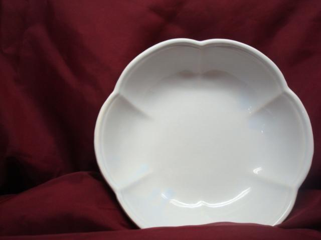 Vintage McCoy 7528 USA Powder Blue Petal Bowl