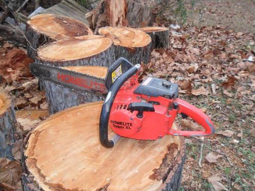 Homelite Super XL Gas Powered Chain Saw