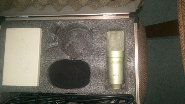 ADK A-51TC Tube Condenser Microphone, Professional, With Preamp, Metal