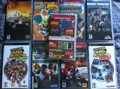 14 X Box360Games+9 PC Games+1 PSP Game+1 Playstation2 Game