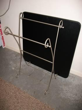 Iron Quilt Rack
