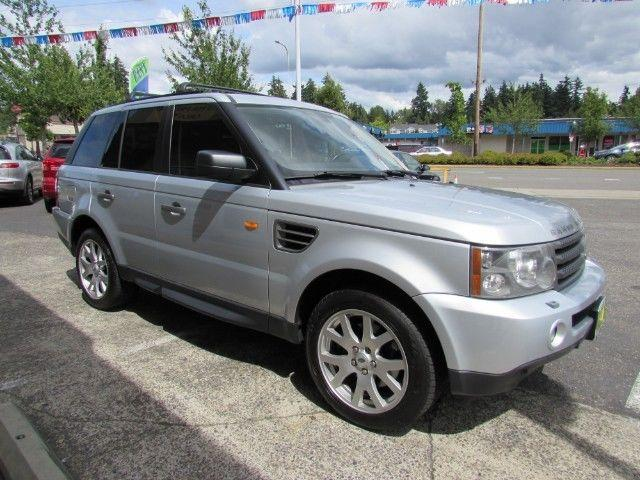 Beautiful 2008 Land Rover Range Rover Sport HSE