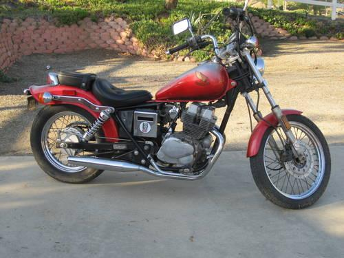 honda motorcycle rebel 250 for sale in ramona california classified. Black Bedroom Furniture Sets. Home Design Ideas
