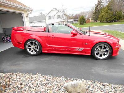 2006 saleen mustang 159 convertible red over 500 hp for sale in forest lake minnesota. Black Bedroom Furniture Sets. Home Design Ideas