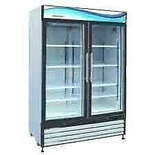 Serv-Ware 2 glass door soda refrigerator, Model#GR-48 - $1400