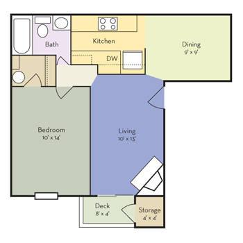 $862 1 Apartment in Renton Seattle Area