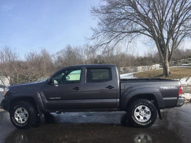 2013 Toyota Tacoma 4x4 TRD Off Road GREY Double cab Truck WARRANTY!