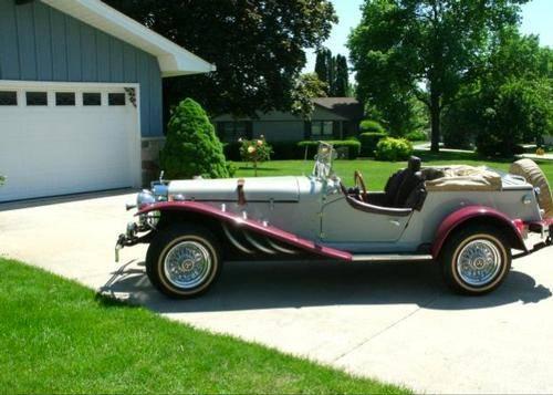 1929 Mercedes SSK Roadster Replica