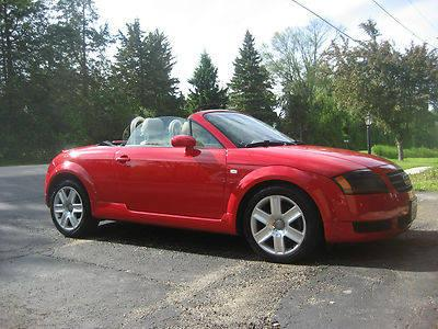 2003 AUDI TT ROADSTER (turbo charged)