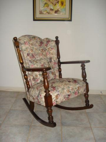 Grandma's Antique Original Philadelphia Rocking Chair - 1930