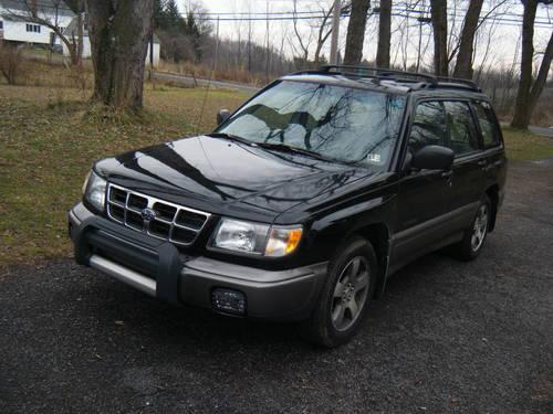 1998 subaru forester s awd nice for sale in ebensburg pennsylvania classified. Black Bedroom Furniture Sets. Home Design Ideas