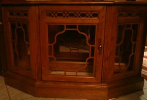 Lighted Wood/Glass Display Case/Hutch for Sale or Trade -REDUCED!