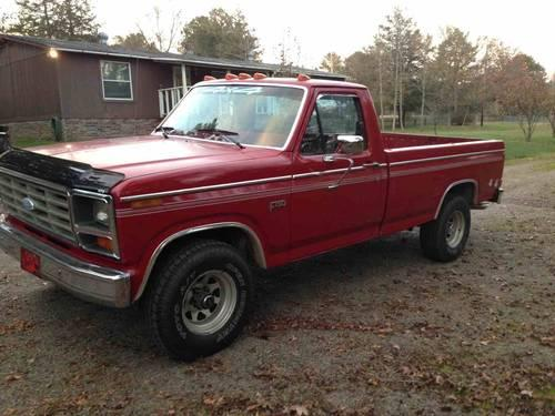 1983 f150 4x4 sale or trade for sale in dover arkansas classified. Black Bedroom Furniture Sets. Home Design Ideas