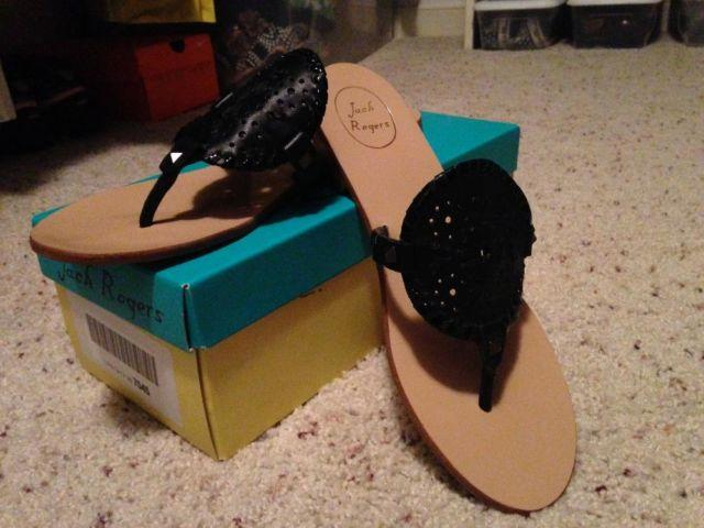 Jack Rogers Georgica Sandal Size 10