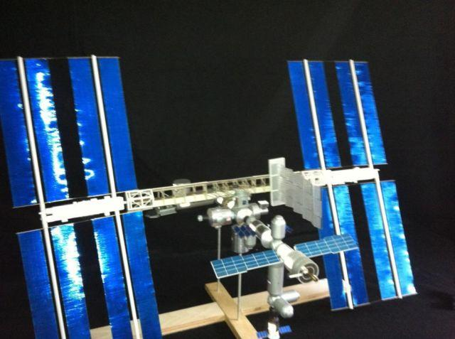 Space Station scale model