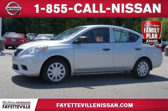 Fred Anderson Nissan Fayetteville >> 2013 Nissan Versa Sedan 1.6 for Sale in East Fayetteville, North Carolina Classified | HoodBiz.org