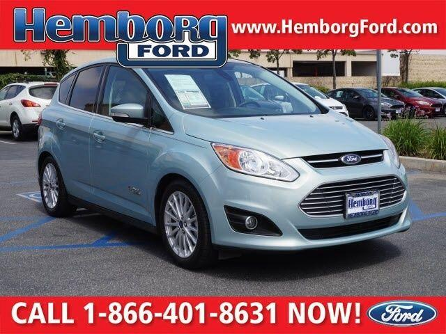 2013 Ford C-Max Energi SEL Blue CVT FWD