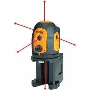 JOHNSON AccuLine Pro 40-6680 Self-Leveling, Five-Beam Laser Pointer