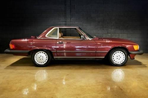 1986 mercedes benz 560 series 560sl for sale in santa for Mercedes benz santa clara