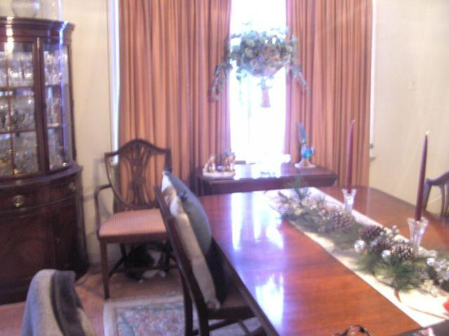 Mahogony Formal Dining room set-Table + cabinets-Antique
