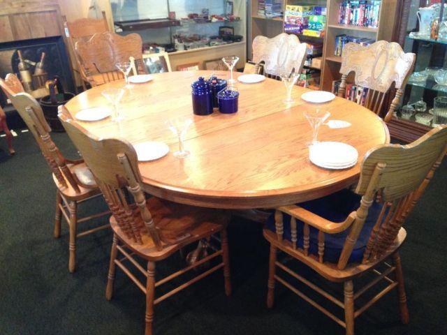 ~*~Oak Dining Set~*~
