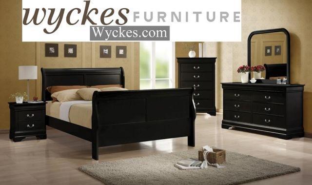 Black Bedroom Set $799