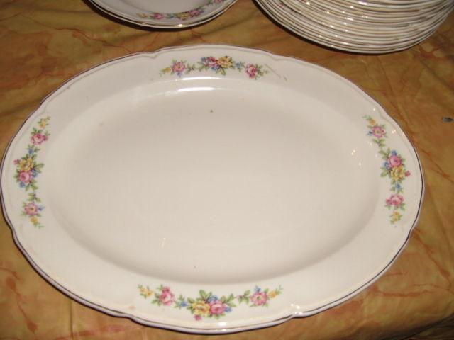 Very Nice Antique Edwin M.Knowels China Set for 12 -Priced to SALE!