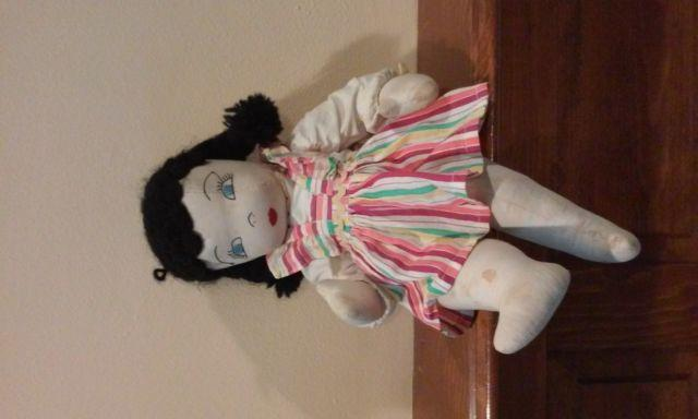 Vintage Hand Sewn Doll