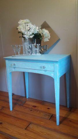 Beautiful Distressed Side Table