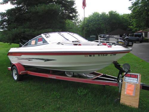 1990 16 39 sea ray fish ski boat with trailer for sale in for Sea ray fish