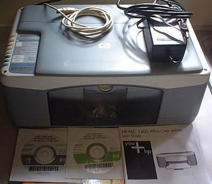 HP Deskjet 460 - Small Mobile Printer