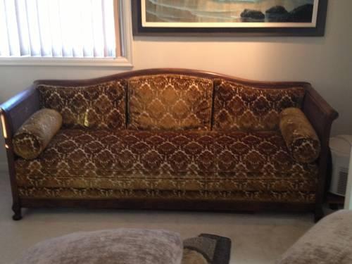Wicker Hide A Bed Sofa For Sale In Seattle Washington Classified