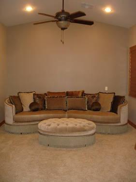Chenille Grey Sofa