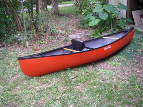 Old town solo canoe for sale in saint petersburg florida for Solo fishing canoe