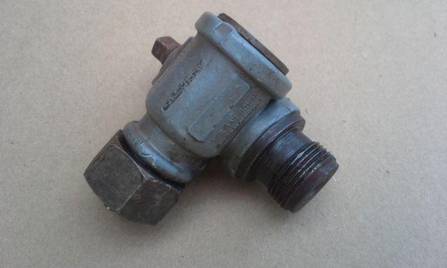 Vintage Stewart Warner performance speed reducer unit
