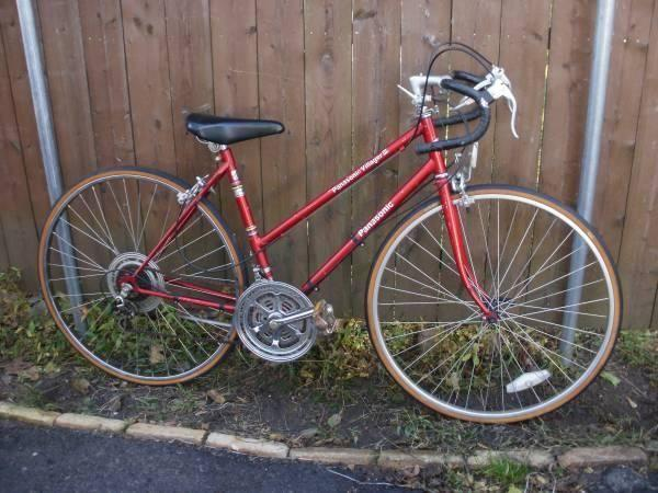PANASONIC VILLAGER-III Woman s Vintage 10 Speed Road Touring Bike ... 1dee713f3