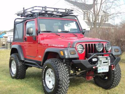 2006 Jeep Wrangler Rubicon Tj Sport Utility 2 Door 4 0l