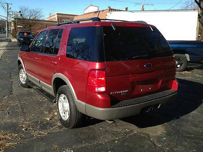 2002 Ford Explorer XLT Sport Utility 4-Door 4.0L